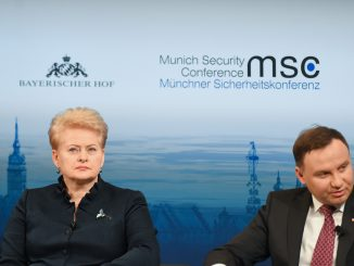 President Dalia Grybauskaitė at Munich Security Conference