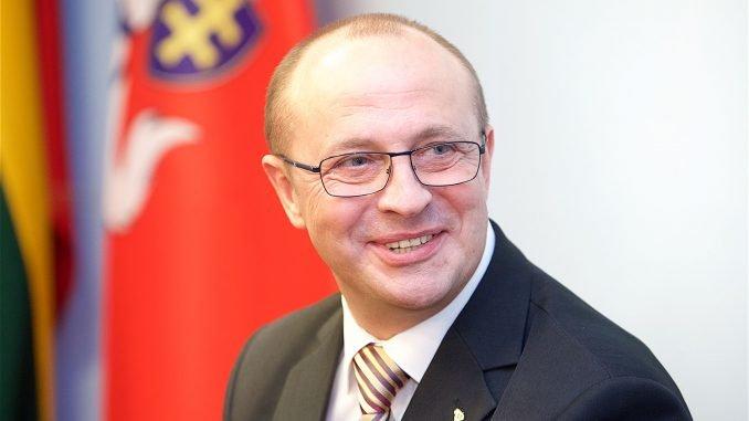Druskininkai Mayor Ričardas Malinauskas