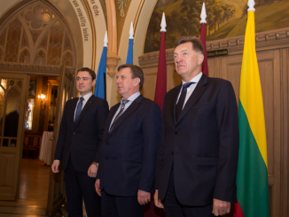 Baltic prime ministers. Photo LRV.lt