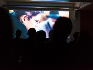 Screening of The Midwife. Photo by Mikko Waltari