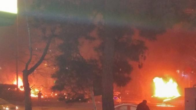 Explosion in Ankara left 37 dead
