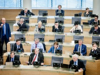 Conservative political group in the Seimas