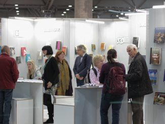 Lithuanian stand at Leipzig Boo Fair