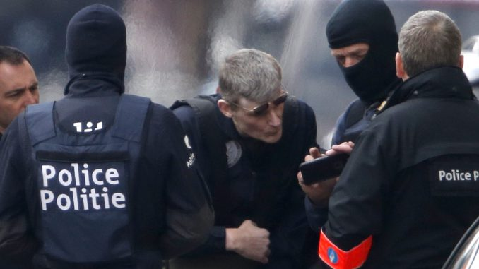 Police operation in Brussels