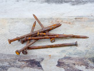 Rusted nails