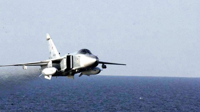 Russian fighter Su-24