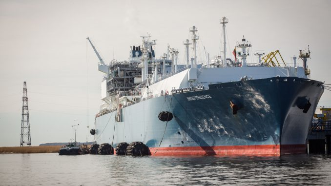 Lithuania's floating LNG terminal