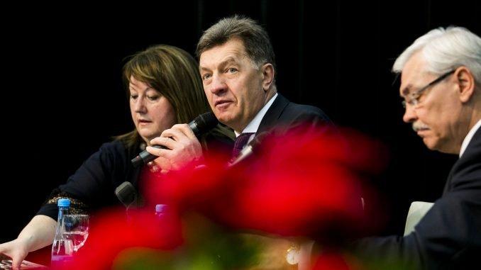 Social Democrat leader Algirdas Butkevičius
