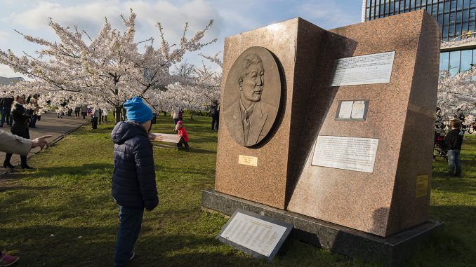 Sugihara Memorial in Vilnius Photo © Ludo Segers @ The Lithuania Tribune