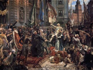 The Constitution of May 3, by Jan Matejko
