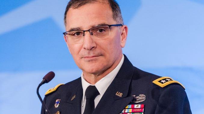 General Curtis M. Scaparrotti, NATO's Supreme Allied Commander Europe