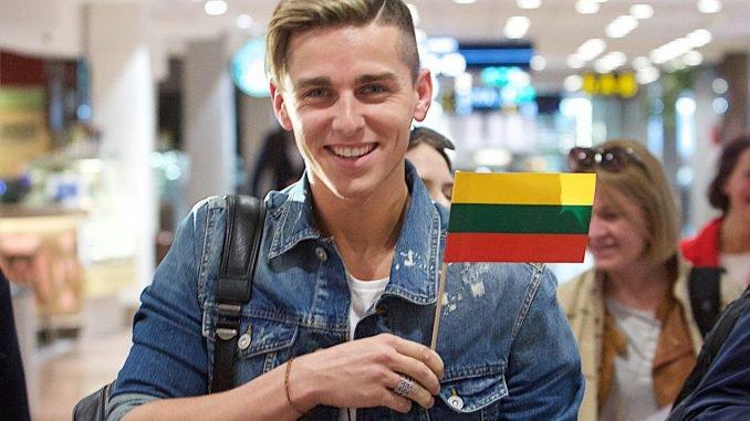 Donatas Montvydas, definitely a Lithuanian