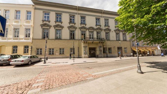Pacai family palace in Vilnius