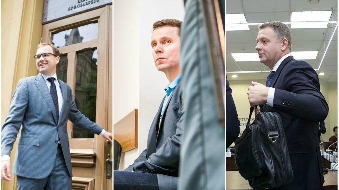 Vytautas Gapšys, Raimondas Kurlianskis ir Eligijus Masiulis