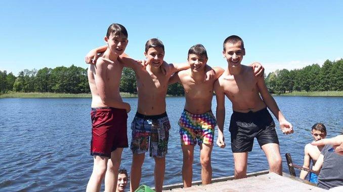 Children from Ukraine in Lithuania