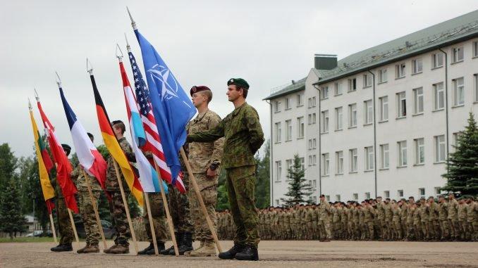 International troops in Rukla