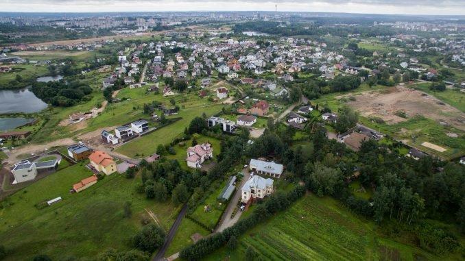 Vilnius suburbs