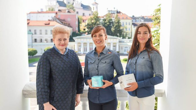 Dalia Grybauskaitė, Donata Virštartaitė, Milda Valčiukaitė