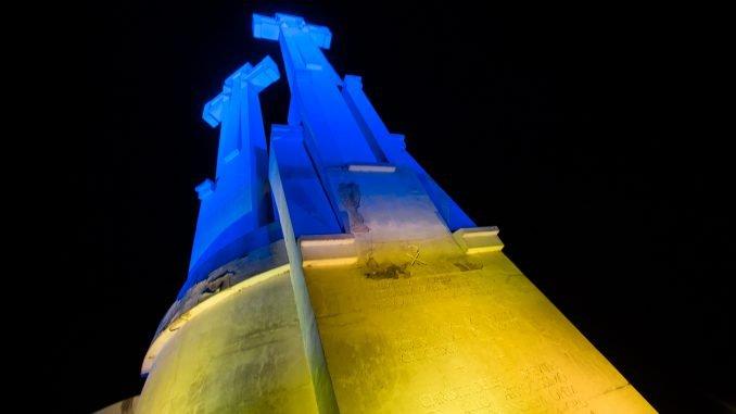 The Three Crosses of Vilnius