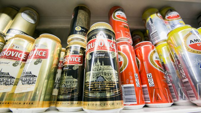 Alcohol beverage in Lithuania