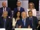Eugenijus Gentvilas during the TV debates on economics