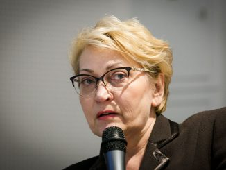 Minister of Finance Rasa Budbergytė