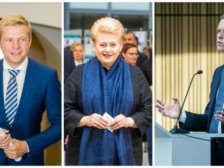 Remigijus Šimašius, Dalia Grybauskaitė, Gabrielius Landsbergis
