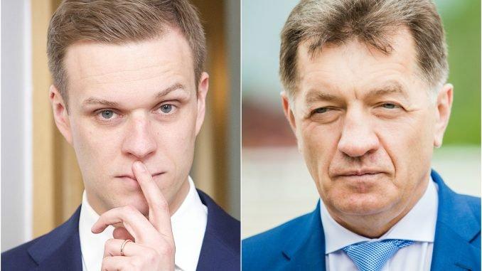 Gabrielius Landsbergis ir Algirdas Butkevičius