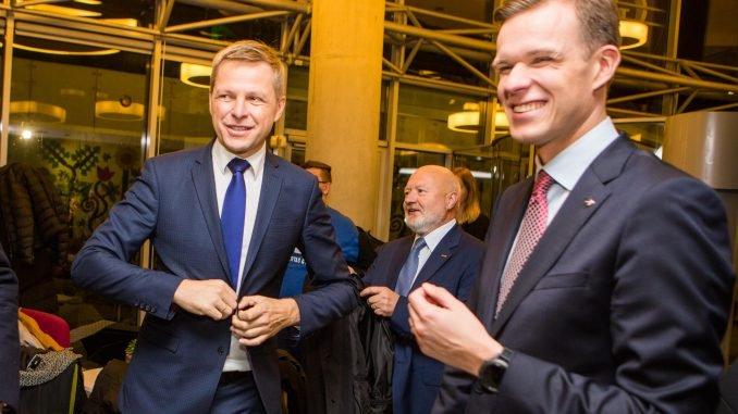 Remigijus Šimašius and Gabrielius Landsbergis