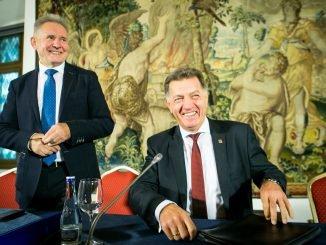 Algirdas Sysas and Algirdas Butkevičius