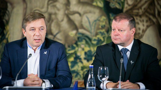 Ramūnas Karbauskis and Saulius Skvernelis
