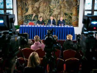 Press Conference after the Seimas elections
