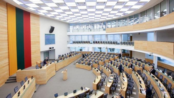 The Seimas Hall