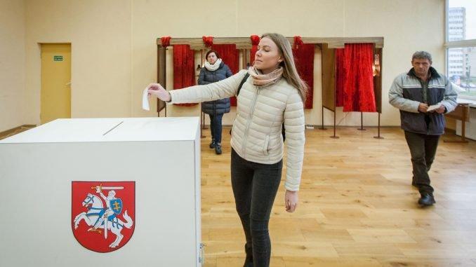 Voting in Naujoji Vilnia