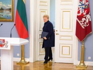 President Dalia Grybauskaitė