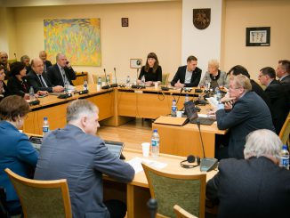 At the meeting of the Homeland Union – Lithuanian Christian Democrats board