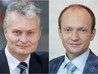 Gitanas Nausėda ir Nerijus Mačiulis