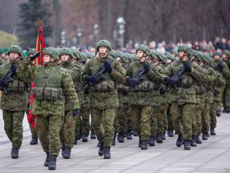 Lithuanian Armed Forces Day Parade