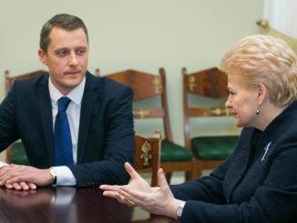 Žygimantas Vaičiūnas, Dalia Grybauskaitė