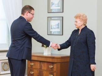 Julius Pagojus ir Dalia Grybauskaitė