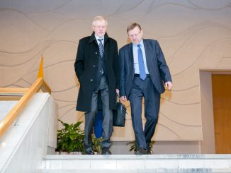 Gediminas Kirkilas and Juozas Bernatonis