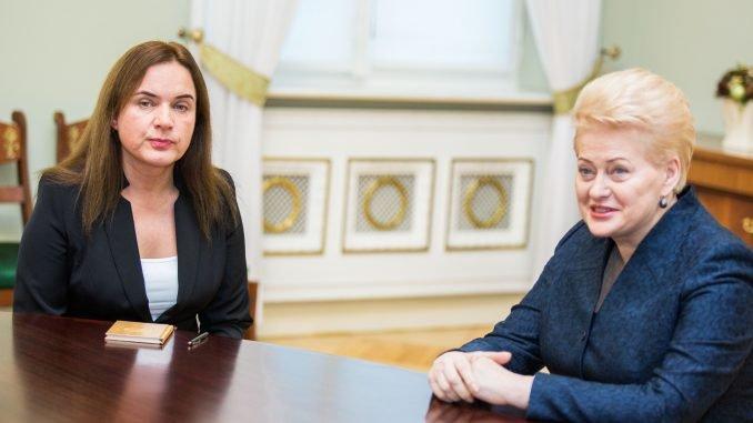 Milda Vainiutė, Dalia Grybauskaitė