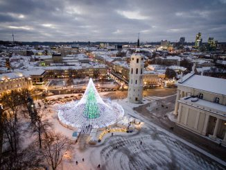 Vilnius' Christmas tree