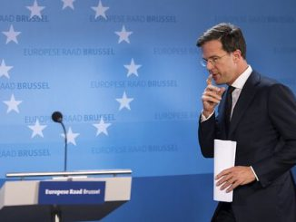 The Prime Minister of the Netherlands Mark Rutte