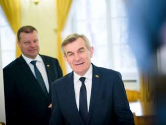 Viktoras Pranckietis ir Saulius Skvernelis