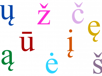 Lithuanian letters