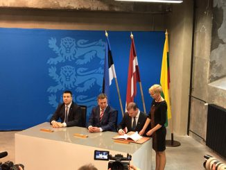 Baltic PMs in Tallinn signed an agreement on the development of the railway Rail Baltica