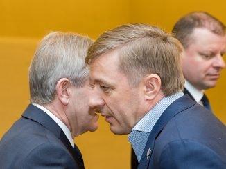 Viktoras Pranckietis, Ramūnas Karbauskis, Saulius Skvernelis