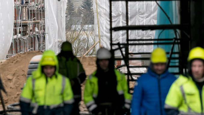 Builders in Užupis