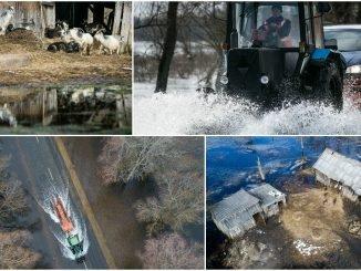 Flood in Rusnė